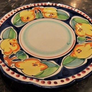 サレルノから直輸入!しっかりとした陶器のお皿