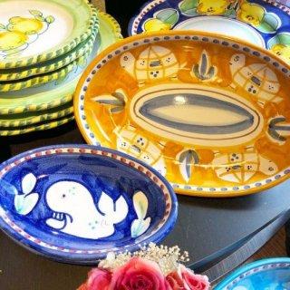【南イタリアよりファルコーネ社の陶器皿 新商品のご案内】